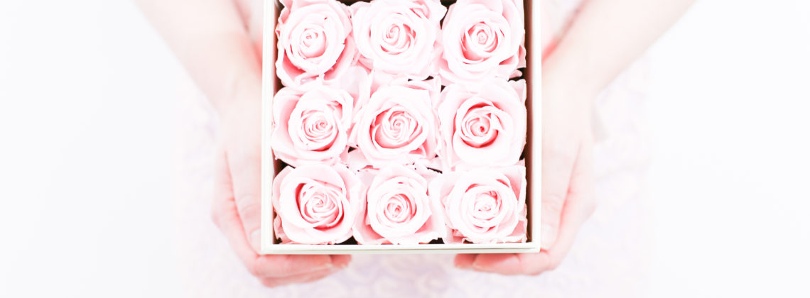The Most Beautiful Roses In A Box